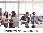 creative business colleagues... | Shutterstock . vector #633389843