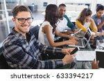 portrait of creative...   Shutterstock . vector #633394217