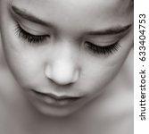 beautiful indian girl looking... | Shutterstock . vector #633404753