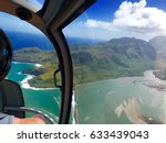 aerial view from helicopter... | Shutterstock . vector #633439043