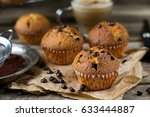 Chocolate Chips Muffins With...