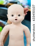 Close Up Of A Simulation Doll ...