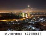 night city view  industrial...   Shutterstock . vector #633455657