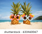 couple of funny attractive... | Shutterstock . vector #633460067