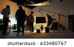 behind the shooting production... | Shutterstock . vector #633480767