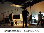 behind the shooting production... | Shutterstock . vector #633480773