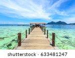 corals reef and islands seen...   Shutterstock . vector #633481247