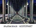 bir hakeim bridge in paris | Shutterstock . vector #633539687