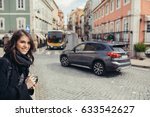 young photojournalist street... | Shutterstock . vector #633542627