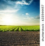 agricultural black and green... | Shutterstock . vector #633544457