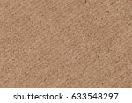 recycled brown corrugated... | Shutterstock . vector #633548297