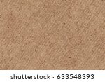 recycled brown corrugated... | Shutterstock . vector #633548393
