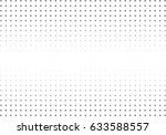 abstract halftone dotted... | Shutterstock .eps vector #633588557