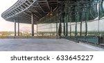 steel structure and facade | Shutterstock . vector #633645227
