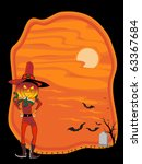 abstract scary background for... | Shutterstock .eps vector #63367684