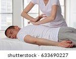 chiropractic  osteopathy ... | Shutterstock . vector #633690227