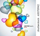 abstract vector background. | Shutterstock .eps vector #63370942