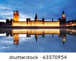 The Reflection Of Westminster...