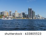 darling harbour with barangaroo ... | Shutterstock . vector #633805523
