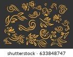 vintage elements for your... | Shutterstock .eps vector #633848747