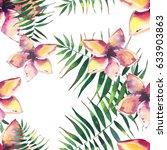 beautiful bright lovely... | Shutterstock . vector #633903863