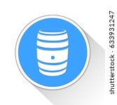 barrel button icon business... | Shutterstock . vector #633931247