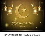vector background greetings... | Shutterstock .eps vector #633964133