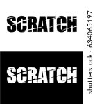 vector scratch icon set | Shutterstock .eps vector #634065197