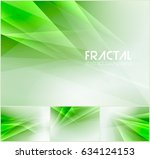 fractal abstract background... | Shutterstock .eps vector #634124153