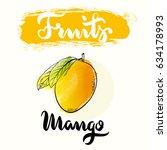 Mango Fruit Label Design For...