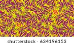 background of colorful fractal... | Shutterstock . vector #634196153