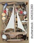 Decorative Wooden Sailing Boat...