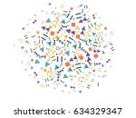 abstract background for... | Shutterstock .eps vector #634329347