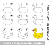 kid game to develop drawing... | Shutterstock .eps vector #634337087