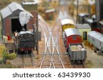 Miniature Model Trains In A...