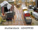 Miniature Model Trains In A...