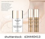 sheer radiance make up base... | Shutterstock .eps vector #634440413