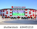 moscow  russia   may 03  2017 ... | Shutterstock . vector #634451213