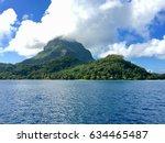 bora bora  french polynesia | Shutterstock . vector #634465487