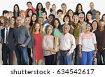 group of diversity people... | Shutterstock . vector #634542617