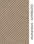 recycled brown corrugated... | Shutterstock . vector #634582253