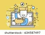 stock vector illustration man...   Shutterstock .eps vector #634587497