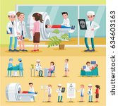 medical care composition with... | Shutterstock .eps vector #634603163