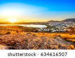 view of gumbet  bodrum  turkey | Shutterstock . vector #634616507