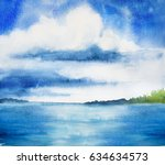 cloud background | Shutterstock . vector #634634573