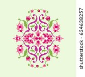 decorative element for design.... | Shutterstock .eps vector #634638257