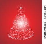 christmas tree | Shutterstock .eps vector #63468184