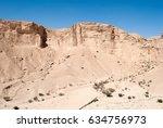 desert mountains | Shutterstock . vector #634756973