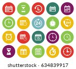 time icons  | Shutterstock .eps vector #634839917