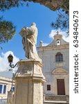 Small photo of Statue and Chapel of St Paul, Kappella San Pawl Tat-Targa, Triq San Pawl, Naxxar, Malta, April 2017